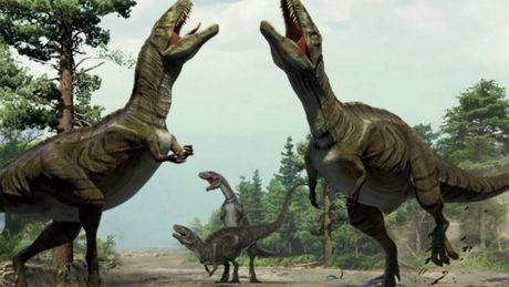 vue-d-artiste-de-la-parade-nuptiale-de-dinosaures